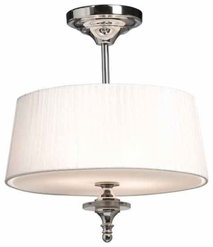 Artcraft AC2734 Contempra Contemporary Semi-Flush Ceiling Light