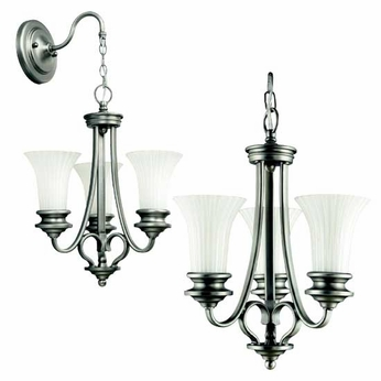 Kichler 42152BPT Abbeyville Pendalette in Brushed Pewter