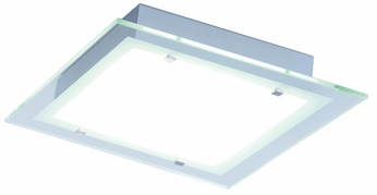 ET2 E22122-10 Contempra 2 Light Contemporary Fluorescent Flushmount Ceiling Light - 13.5 inches wide