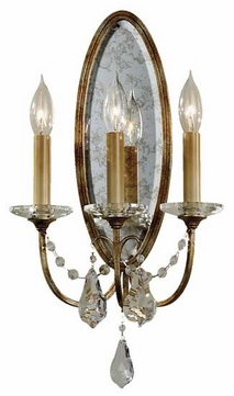 Feiss WB1543OBZ Valentina 3-Lamp Wall Sconce