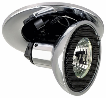 Liton LR1397 3 Inch Low Voltage Halogen Downlight Contemporary Recessed MR16 Pull Down Trim