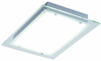 ET2 E22121-10 Contempra 2 Light Contemporary Fluorescent Flushmount Ceiling Fixture - 21.5 inches wide