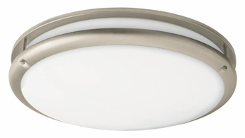 AFX CSC2232NT Contemprorary Round Fluorescent Flush-Mount Ceiling Light