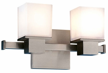 Hudson Valley 4442 Milford Twin Vanity Contemporary Halogen Bathroom Fixture