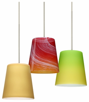 Besa Canto 5 Contemporary Low-Voltage Mini Pendant Light