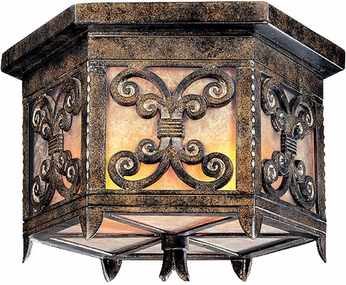 Troy C9909CG Gables Outdoor Flush Mount Ceiling Light - 18 inches wide