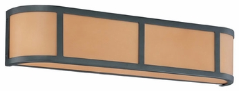 Nuvo 603823 Odeon ES 3-Lamp Wall Sconce in Aged Bronze