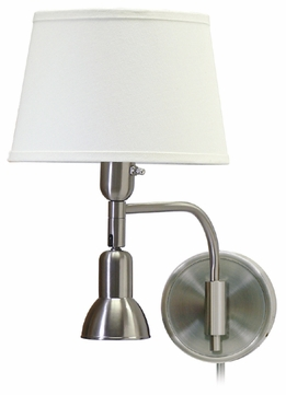 House of Troy LL623SN House of Troy Library Wall Swing Arm Lamp in Satin Nickel