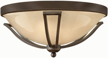 Hinkley 2633OB Bolla 2 Light Outdoor Flushmount Ceiling Fixture