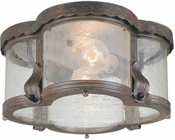 Troy C9950SBZ Carlsbad Traditional Outdoor Flush Mount