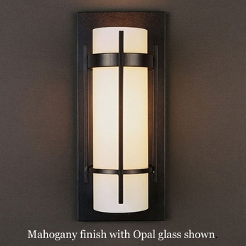 Hubbardton Forge 20 5892 Banded With Bars Wall Sconce