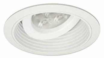 Liton LRLD578 5 Inch General Purpose 10W/15W Adjustable Regressed Gimbal Contemporary Recessed Ceiling Light Trim