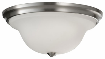 Feiss FM362BS Beckett Contemporary Large Flush Mount Ceiling Light