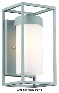Forecast F8556 Cube Contemporary Outdoor Wall Sconce