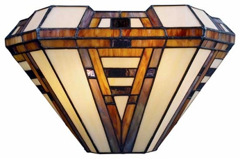 ELK 08028CB American Art Tiffany Wall Sconce