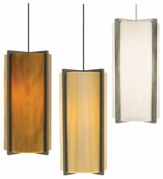 Tech Essex Art Glass Low-Voltage Pendant Light