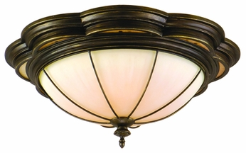 Corbett 11232 Montecito Colonial Flush Mount Ceiling Light