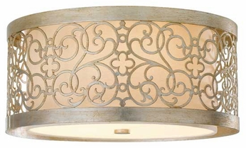 Feiss FM339SLP Arabesque Flush Mount Ceiling Light
