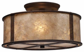 ELK 150313 Barringer Semi-Flush Ceiling Light