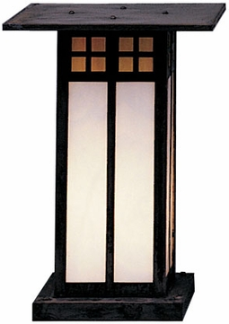 Arroyo Craftsman GC-9L Glasgow Craftsman Outdoor Pier Mount - 12.75 inches tall