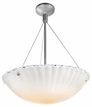 Access 23077 Venus Semi Flush Ceiling Light - 16 inches