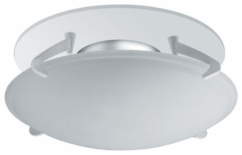 Liton LR1446 4 Inch Low Voltage Downlight Contemporary Halogen Recessed Deco Glass Shield Dome Trim