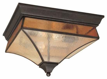 World Imports 902506 Cairns Outdoor Flush-Mount Ceiling Light