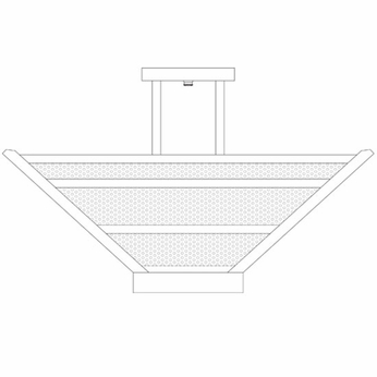 Arroyo Craftsman HOIH22 Horizon 22  Semi-flush Ceiling Light