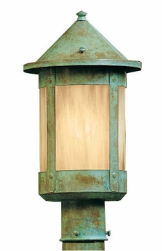 Arroyo Craftsman BP-7 Berkeley Outdoor Lighting Post - 11.25 inches tall
