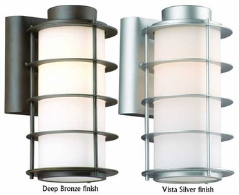 Philips F8497 Hollywood Hills Contemporary Outdoor Wall Sconce