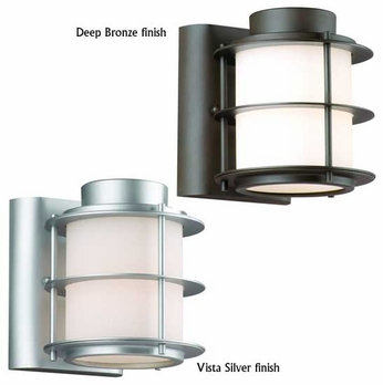 Forecast F8496 Hollywood Hills Small Contemporary Outdoor Wall Sconce