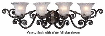 Kalco 3994 Wellington 4-Lamp Traditional Vanity Light