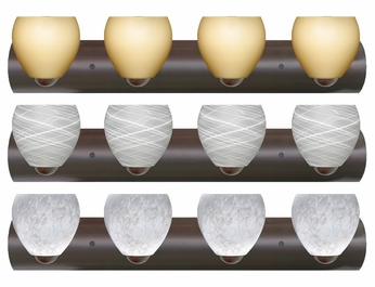 Besa 4WZ4122 Bolla 4-light Bathroom Lighting
