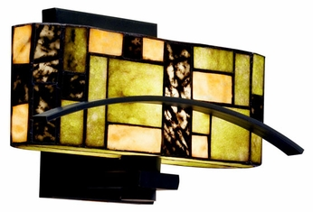 Kichler 69092 Bayonne Art Glass Wall Sconce