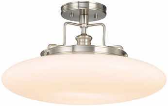 Hudson Valley 4208 Beacon Semi-Flush Ceiling Fixture - 18 inches wide