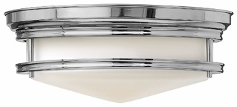 Hinkley 3301CM Hadley 14 Inch Diameter Chrome Nautical Ceiling Light