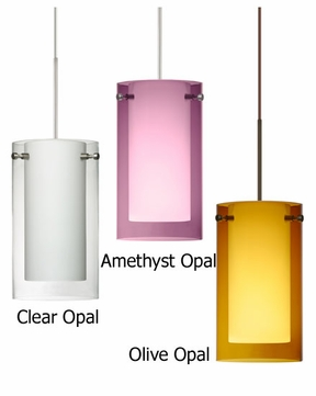 Besa Pahu 4 Contemporary Low-Voltage Mini Pendant Light