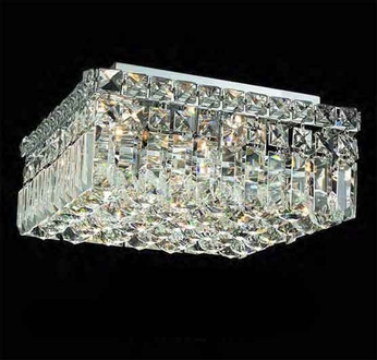 Worldwide 33516 Worldwide 12  4-light Semi-Flush Ceiling Light