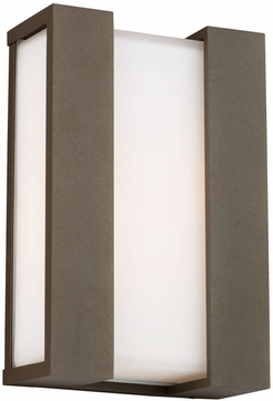 Forecast F8541 Newport Contemporary Outdoor Wall Sconce - 10 inches wide