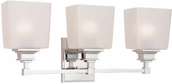 Hudson Valley 1953 Berwick Contemporary 3 Light Bathroom Fixture