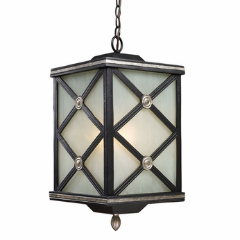 ELK 42133-1 Chaumont Traditional Outdoor Hanging Ceiling Light
