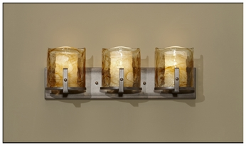 Feiss VS18903RBZ Aris 3-light Modern Bathroom Lighting Vanity