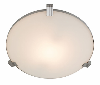 Access Luna Halogen Ceiling Light in Brushed Steel