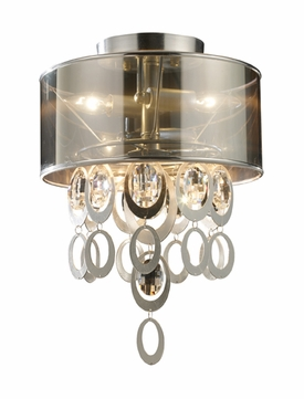ELK 140612 Parisienne Modern Semi-flush Mount Ceiling Light