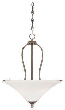 Quoizel SPH2821PN Sophia 21 Inch Diameter Traditional Bronze Hanging Pendant Light