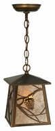 Meyda Tiffany 142751 Whispering Pines 10 Inch Wide Country Style Pendant Lighting