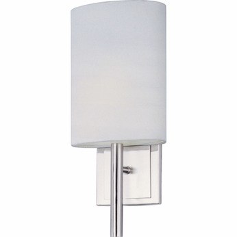 ET2 E2109201SN Edinburgh I Tall Contemporary Wall Sconce with Extended Pole - CFL