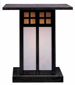Arroyo Craftsman GC-18 Glasgow Craftsman Outdoor Pier Mount - 19.5 inches tall