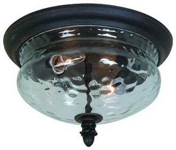 Artcraft AC8506 Imperial Traditional Style Flush-Mount Outdoor Ceiling Light