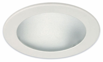 Liton LR922 4 Inch Line Voltage Contemporary Halogen Recessed Albalite Trim